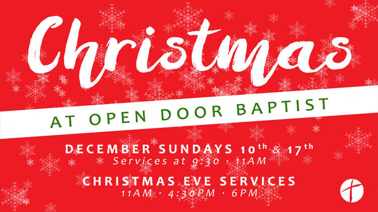 Christmas at Open Door